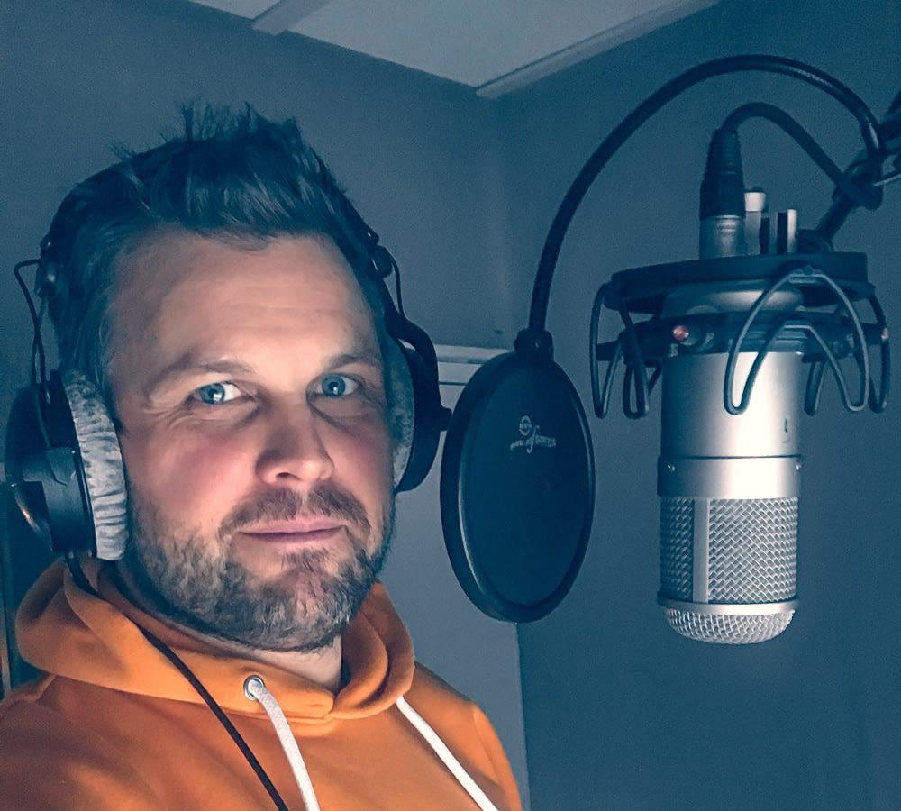 John opptak studio voice nr14
